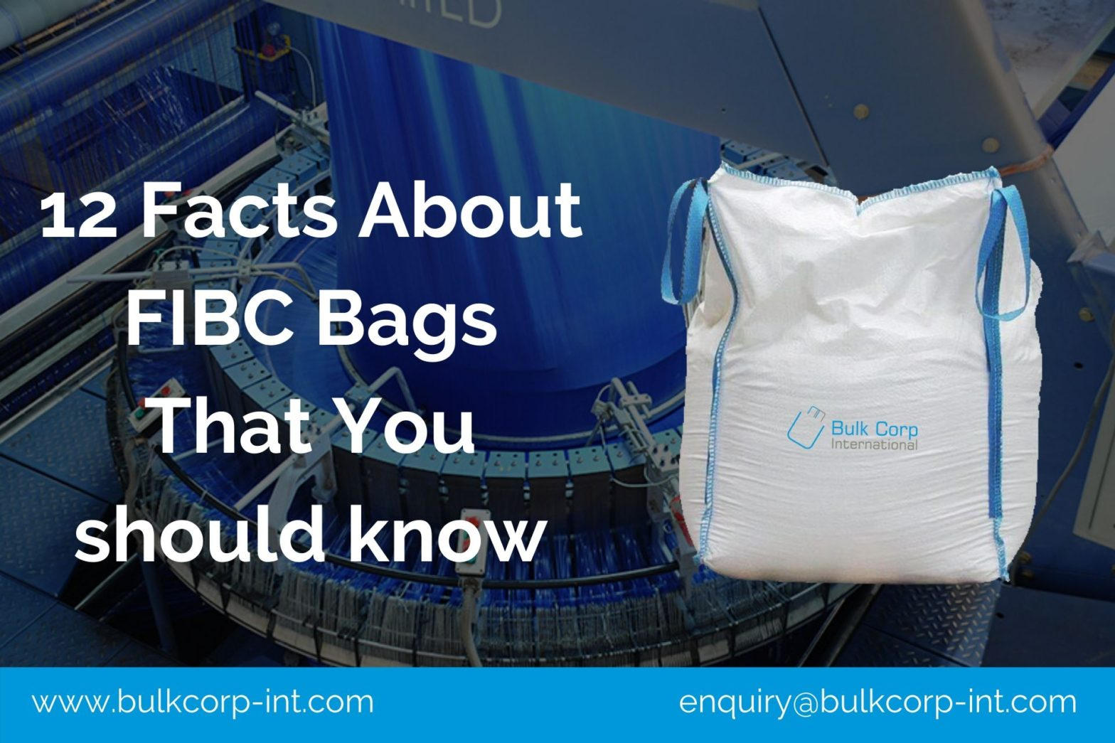 12 Facts About FIBC Bags That You should know