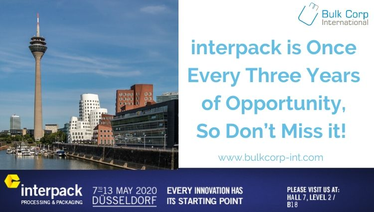 interpack is Once Every Three Years of Opportunity, So Don't Miss it!