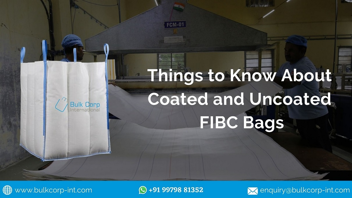 Things to Know About Coated and Uncoated FIBC Bags